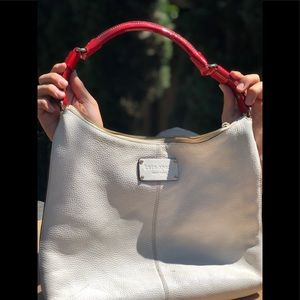 Kate Spade White Color Handbag pre-loved